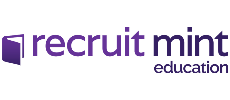 Recruit Mint Education Logo