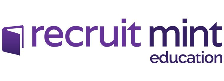 Recruit Mint Education Logo